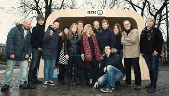 Klare for å presentere NRK P13