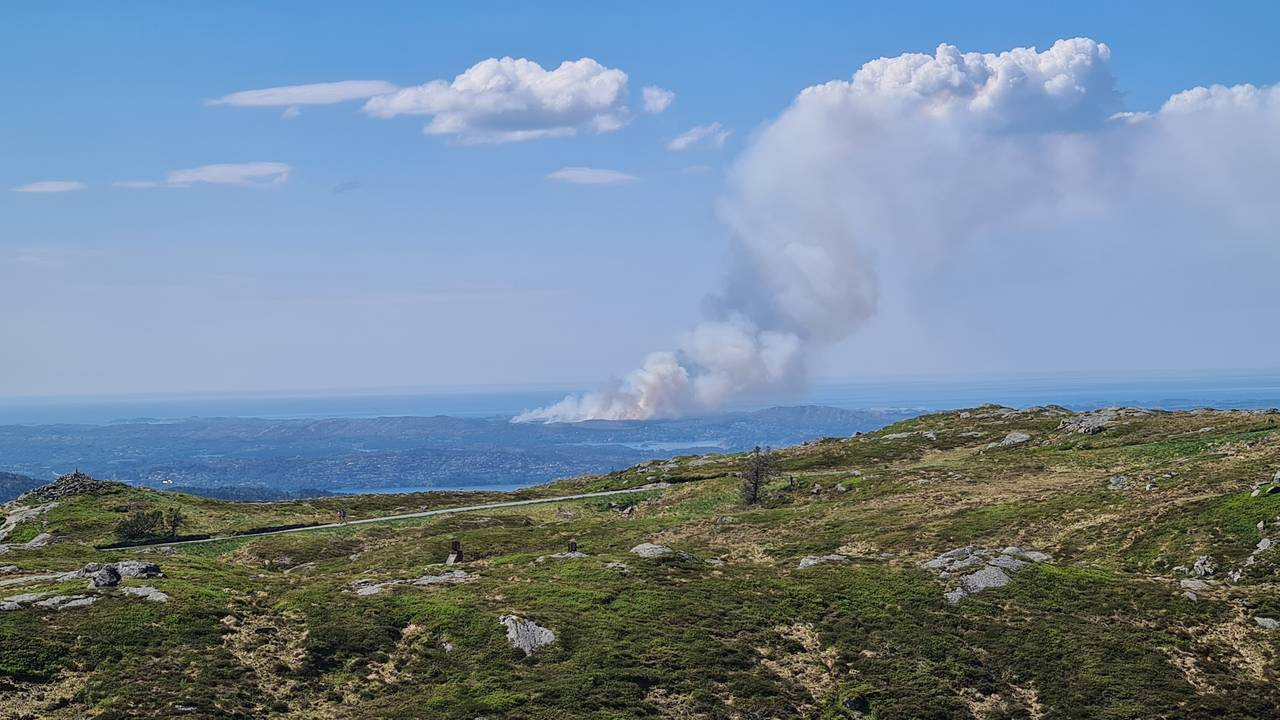 Skogbrann Øygarden