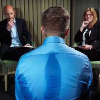Kroppsspråk Jobbintervju