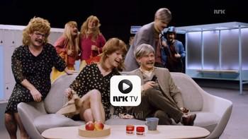 TV-trailer: Erik Solbakken og Hasse Hope fra humorserien Karl Johan forklarer hva smart-TV er.