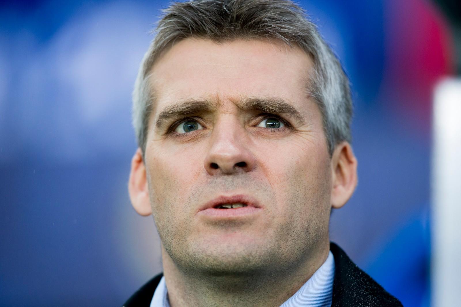 Molde-trener Tor Ole Skullerud før cupfinalen.