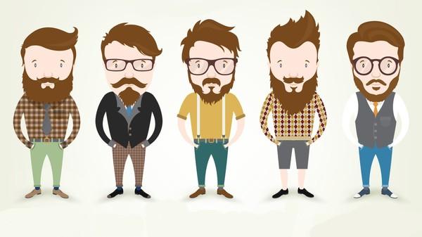 Er skjeggets storhetstid over?