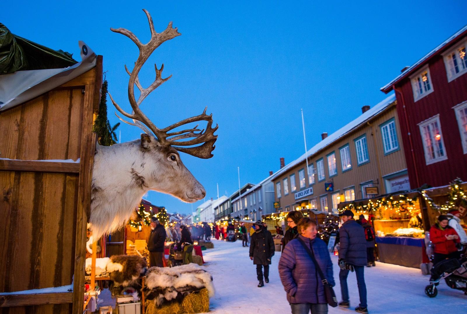 Årets julemarked på Røros arrangeres fra 3. til 6. desember. Har du ikke kommet i skikkelig julestemning ennå, vil du garantert gjøre det her.