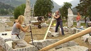 Åtti tonn marmor og ønskekvist