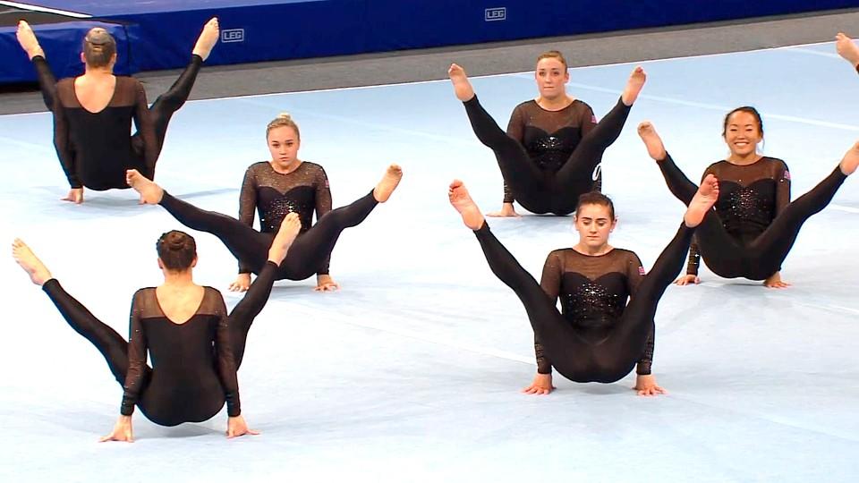 Troppsgymnastikk