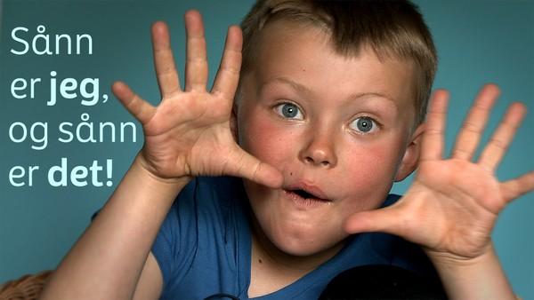 Norsk serie hvor vi får et innblikk i hverdagen til barn som har en ekstra utfordring å leve med.