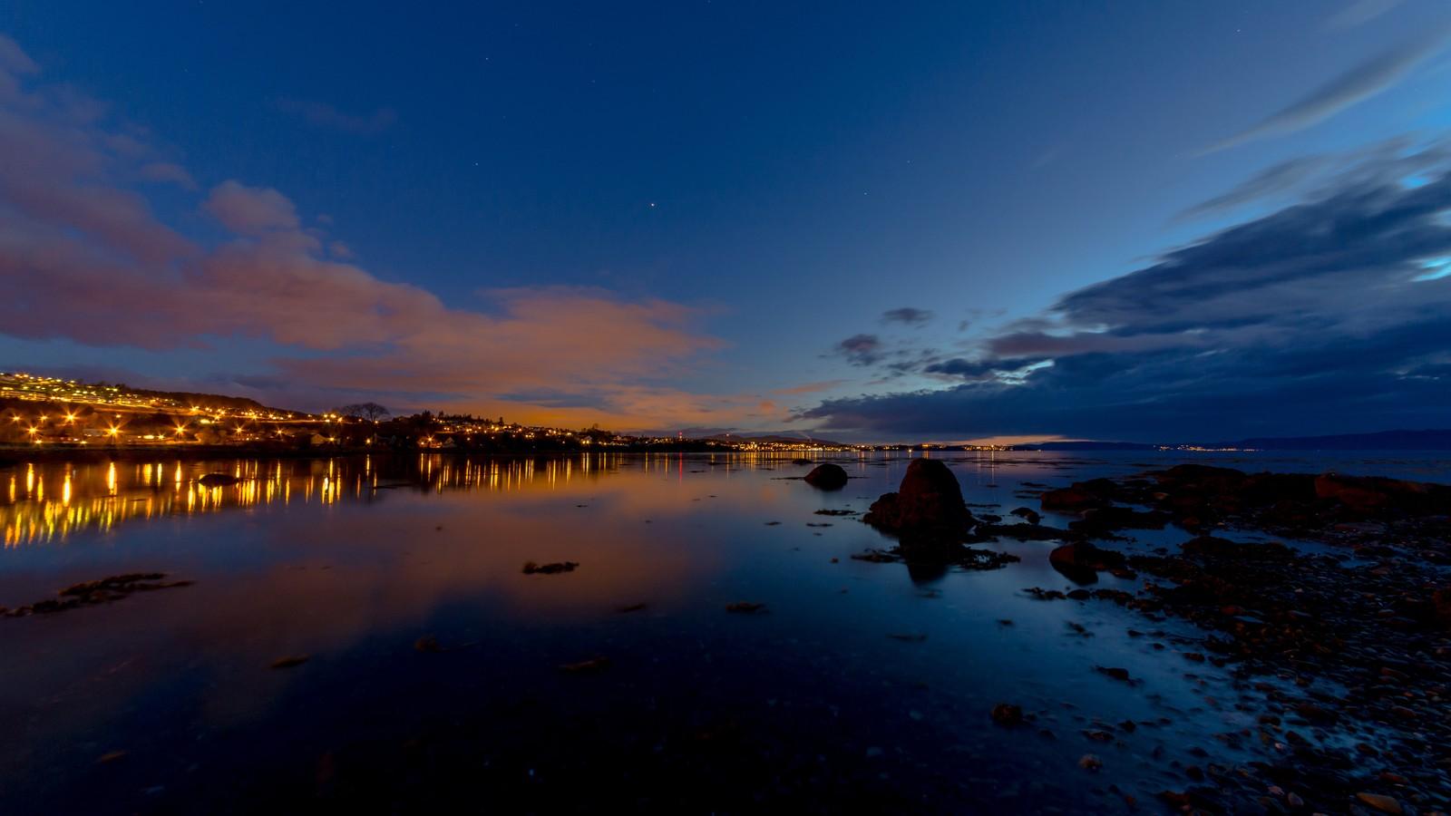 Være i Trondheim ved midnatt
