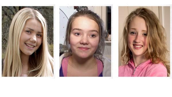 Tre historier fra tre jenter