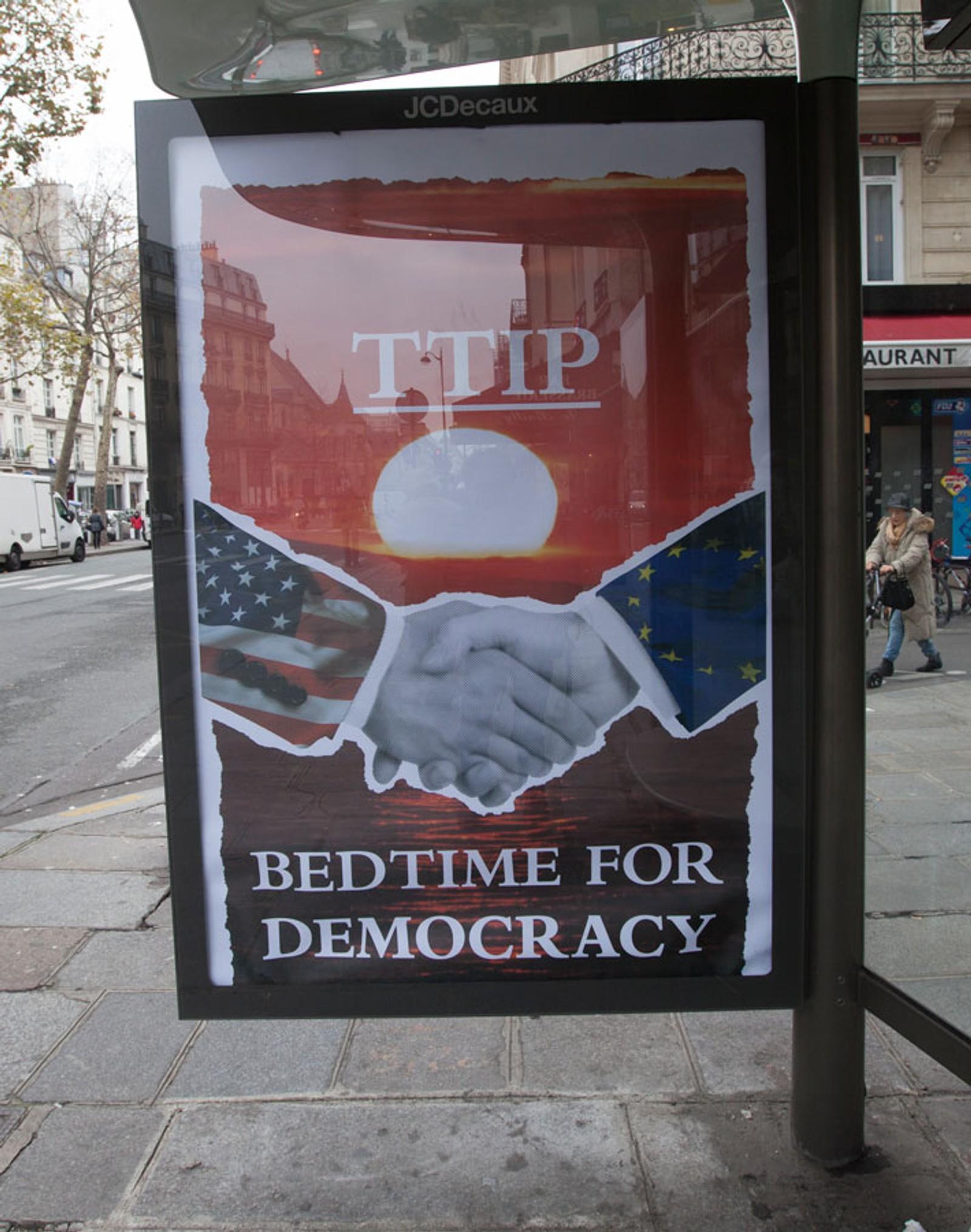 TTIP: Transatlantic Trade and Investment Partnership har irritert på seg klimaforkjemperne. Handelsavtalene mellom EU og USA har fått kritikk for ikke å være bærekraftige.