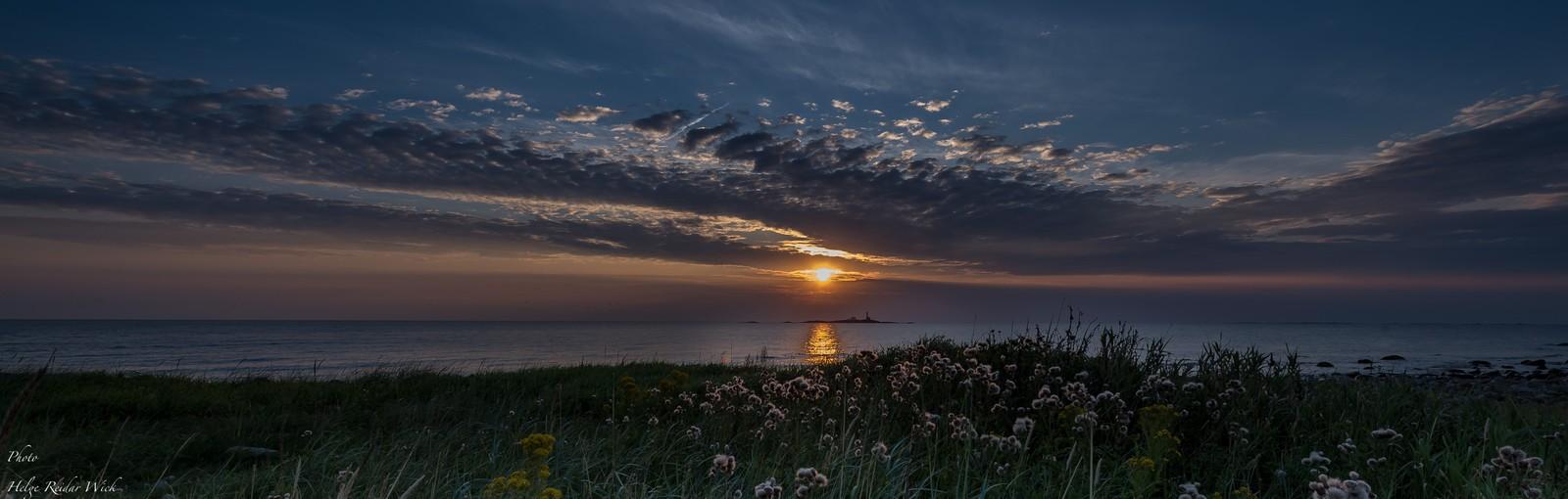 Solnedgang på Jæren