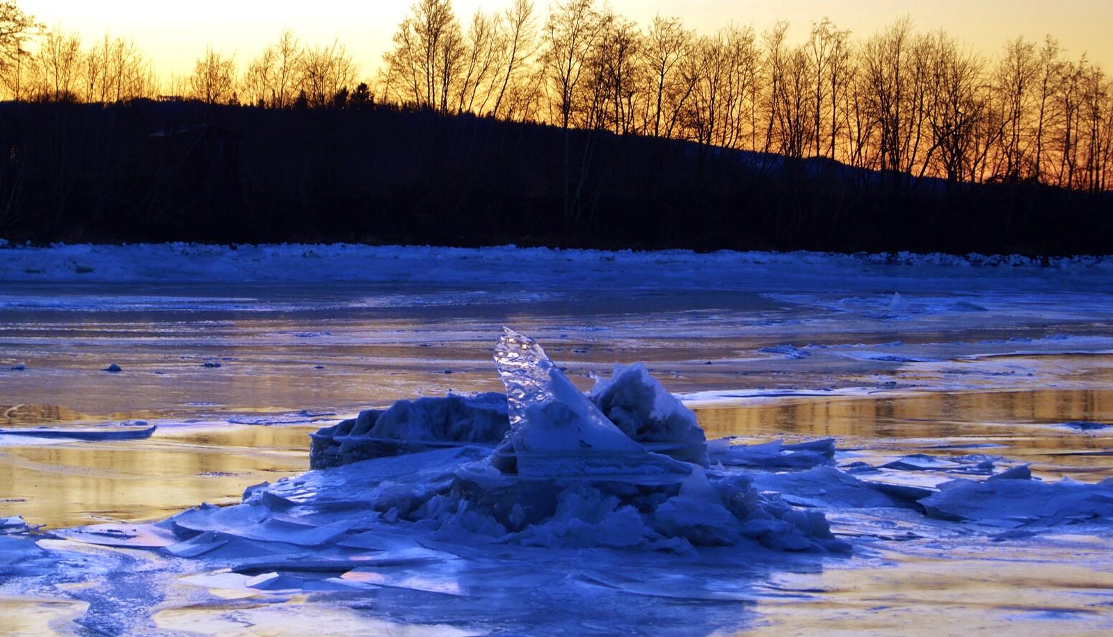 Is i Verdalselva