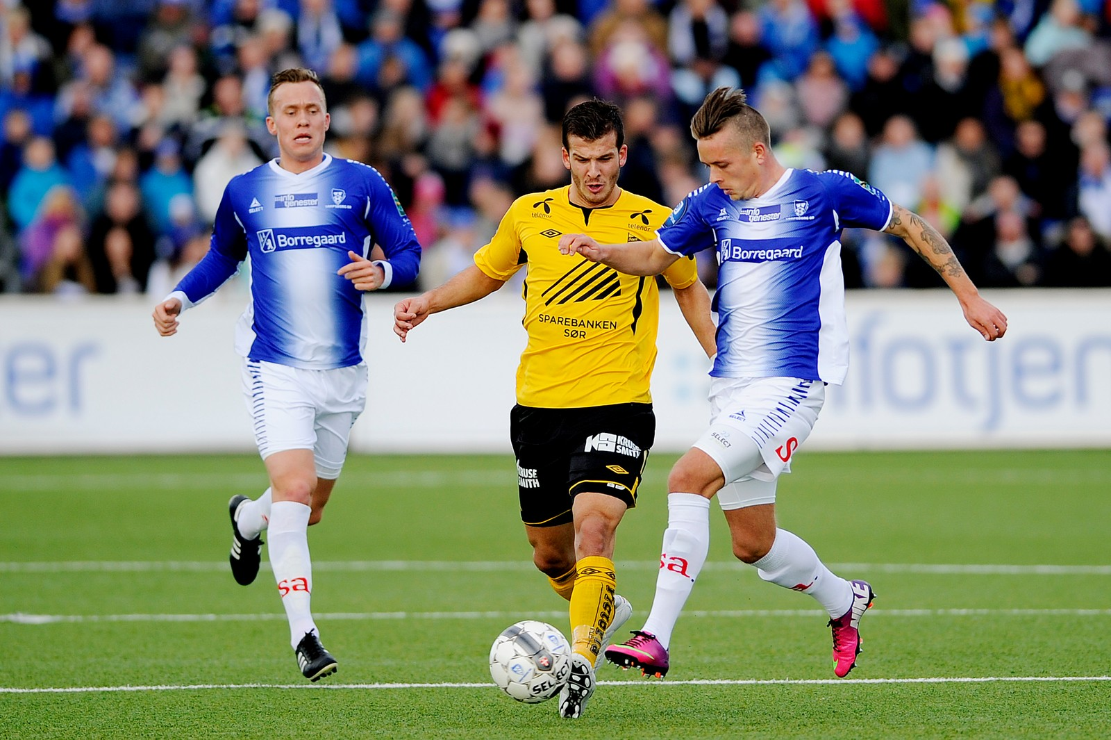 Tripic mot Sarpsborg 08. Kampen enda 1-1 i Sarpsborg.