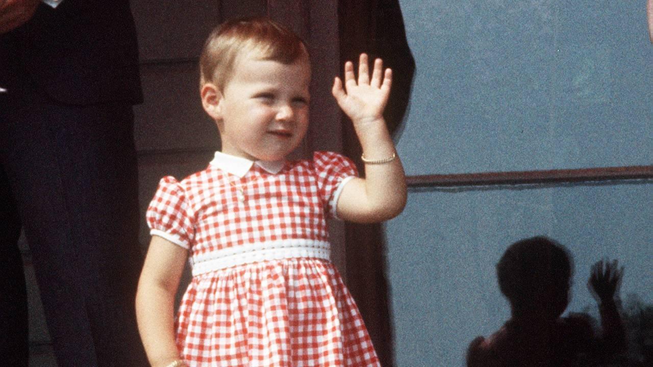 Prinsesse Märtha Louise (1 år og 10 mndr) fotografert på Skaugum