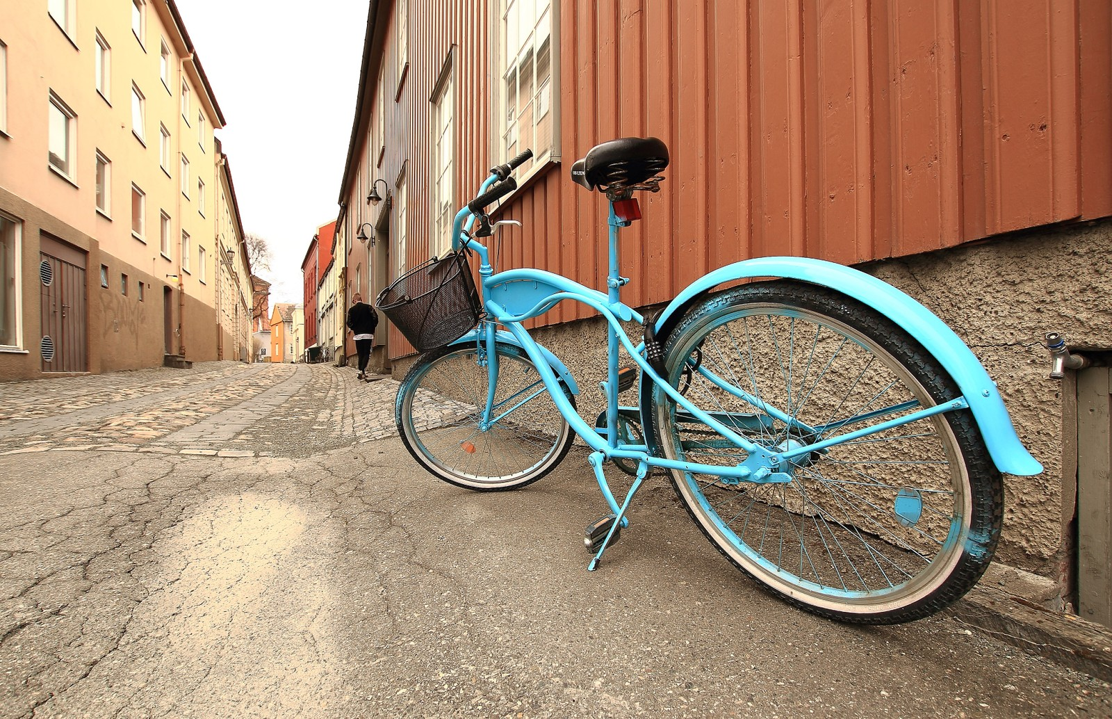 På sykkeltur i Trondheims veiter