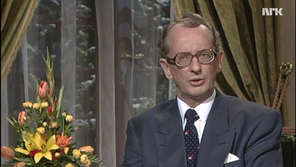 Statsministeren taler: Jan P. Syse 1990