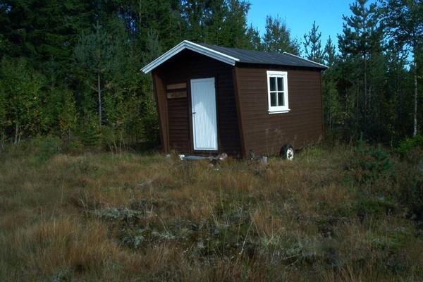 ubetjent hytte, Elverum Finnskog, Finnskogen Turistforening -  Foto: Stein  Briskerud