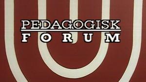 Pedagogisk forum