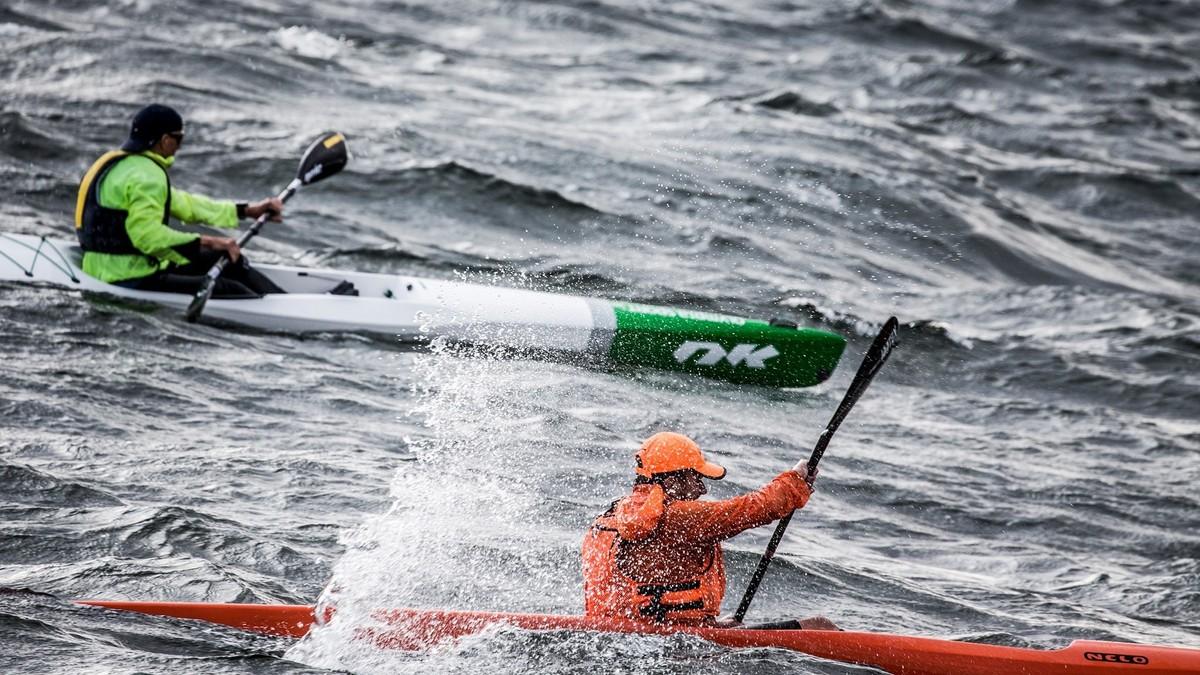 Kajakksurf i Oslofjorden