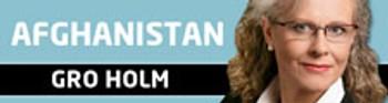 Gro Holm Afghanistan