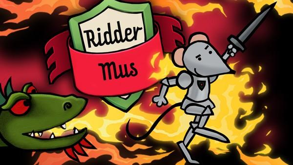 Den sjefete Ridder Mus og hennes venninne, Dragen, er klare til kamp. Her kjempes det mot gamle eventyrklisjeer.Belgisk animasjon.