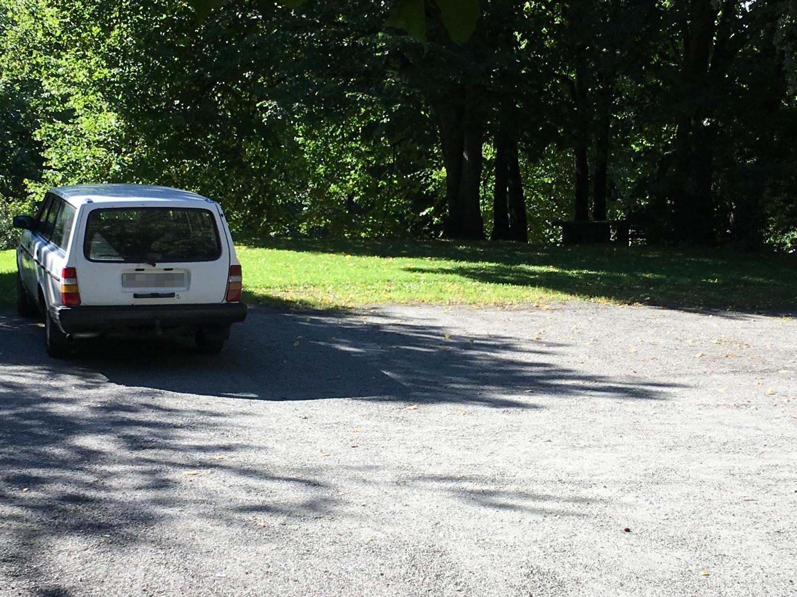 Der boligen til Munch sto er det nå parkeringsplass.