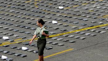 Gigantbeslag av kokain i Medellin