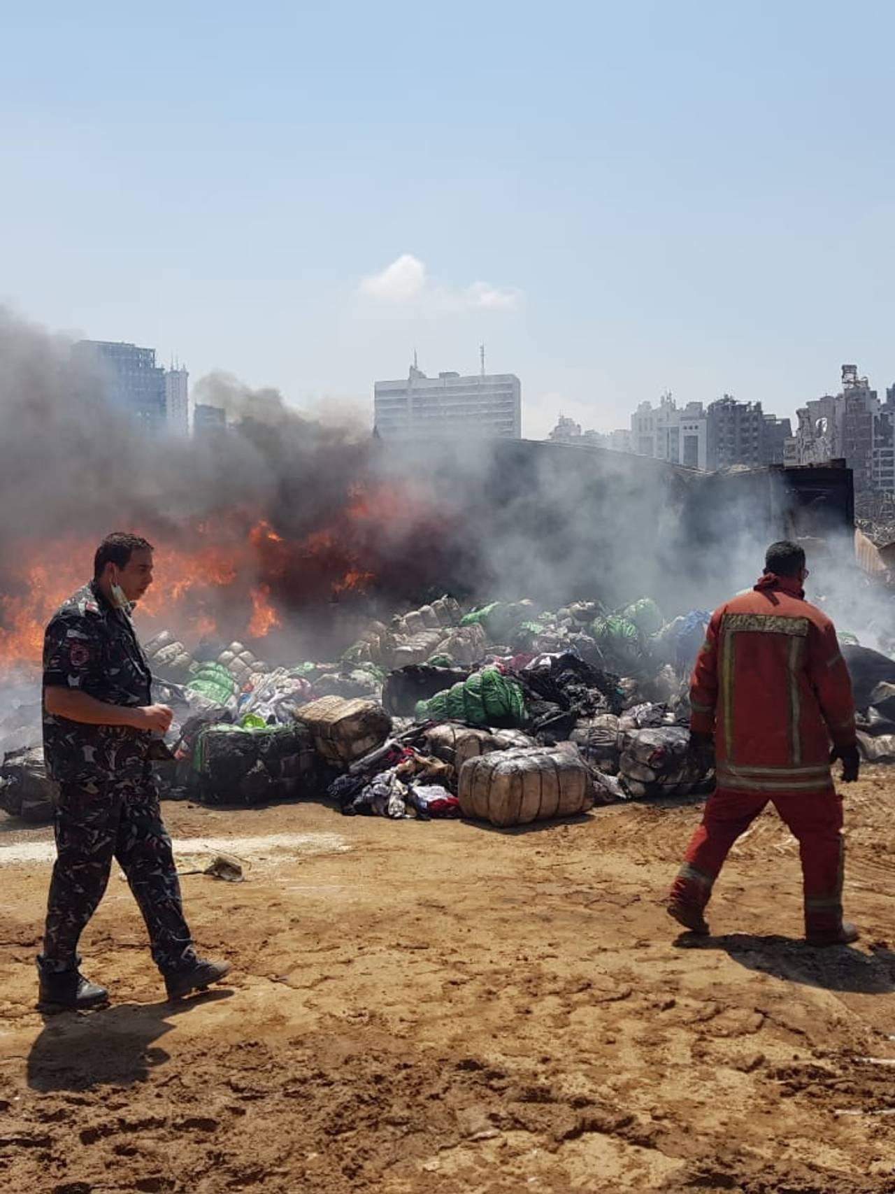 Etter eksplosjonen i Beirut 4.august 2020