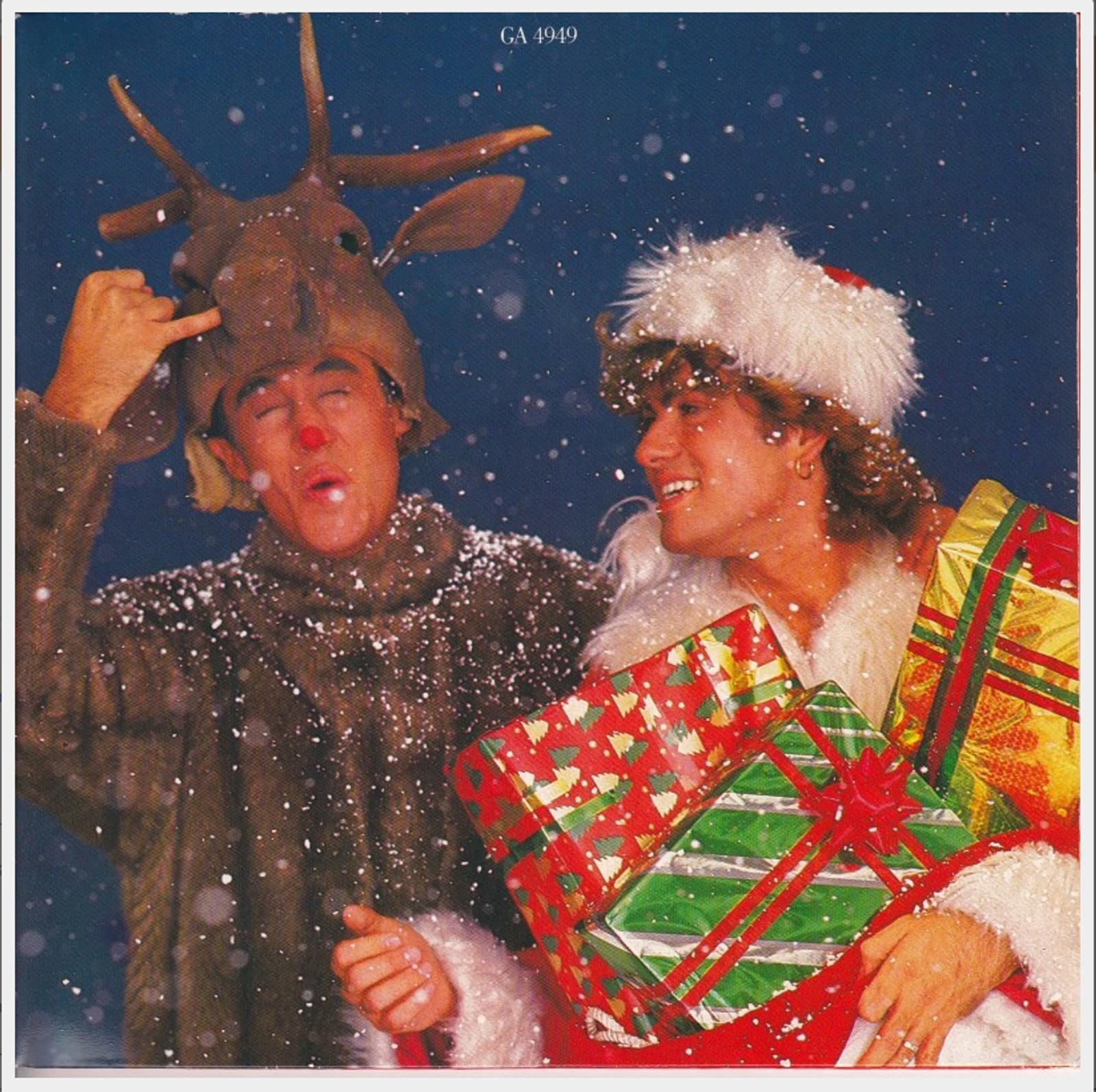 """1984: Singelforside """"Last Christmas"""" med Wham"""
