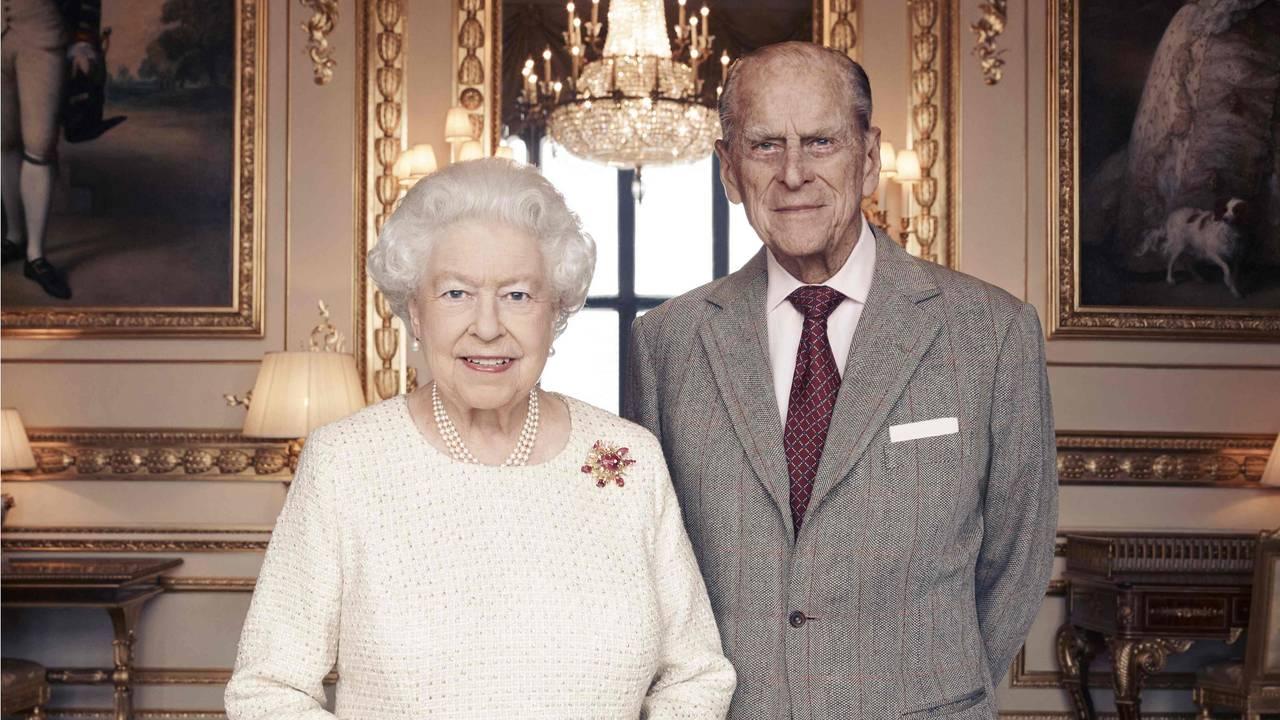 Dronning Elizabeth og prins Phillip 2017