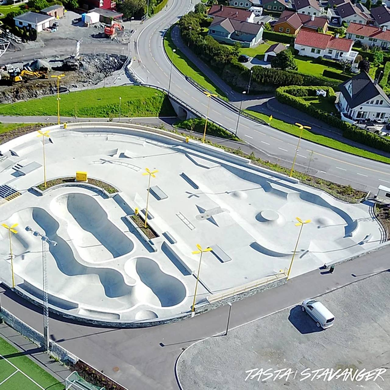 Tasta skatepark i Stavanger