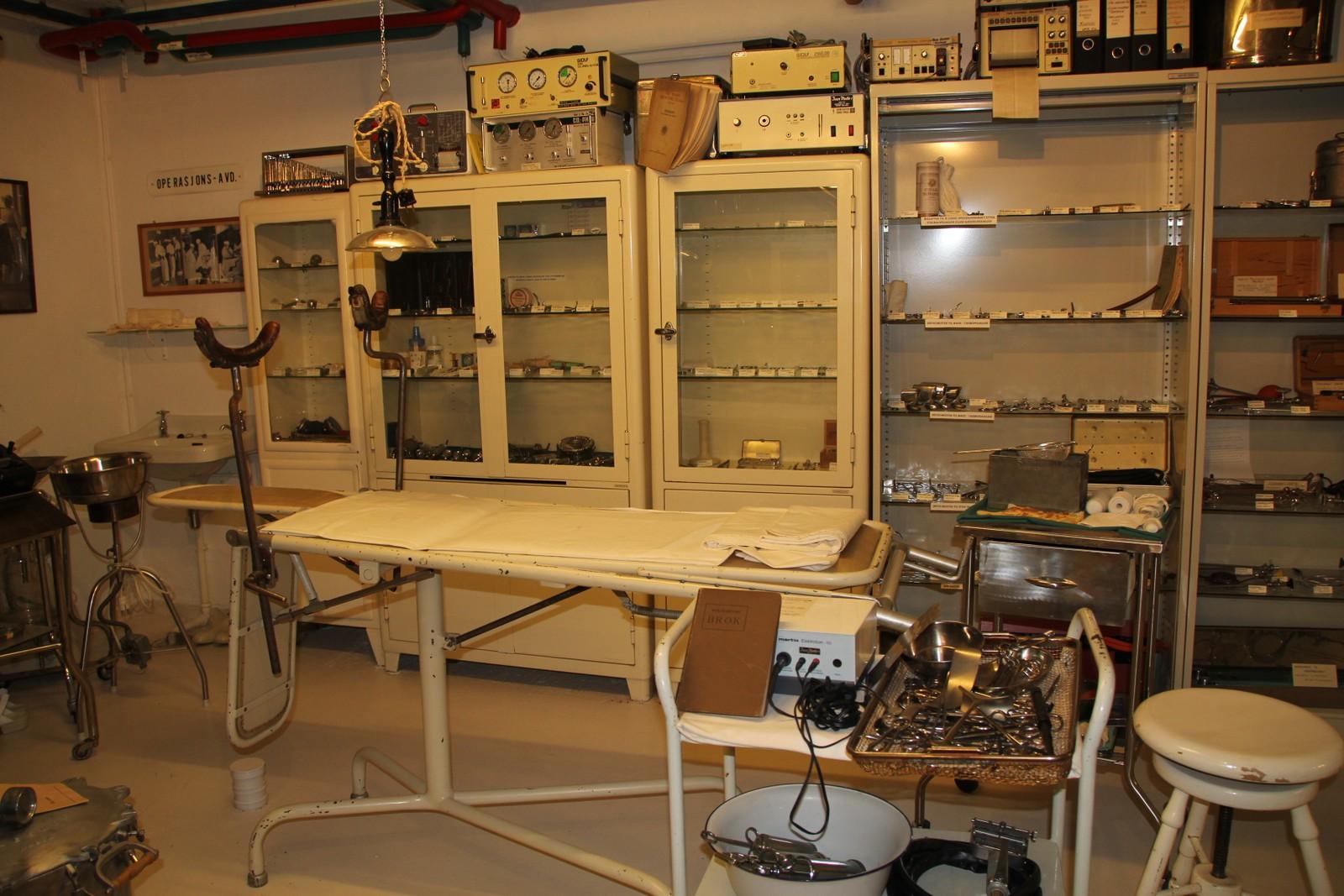 Utstyr fra operasjonsavdeling