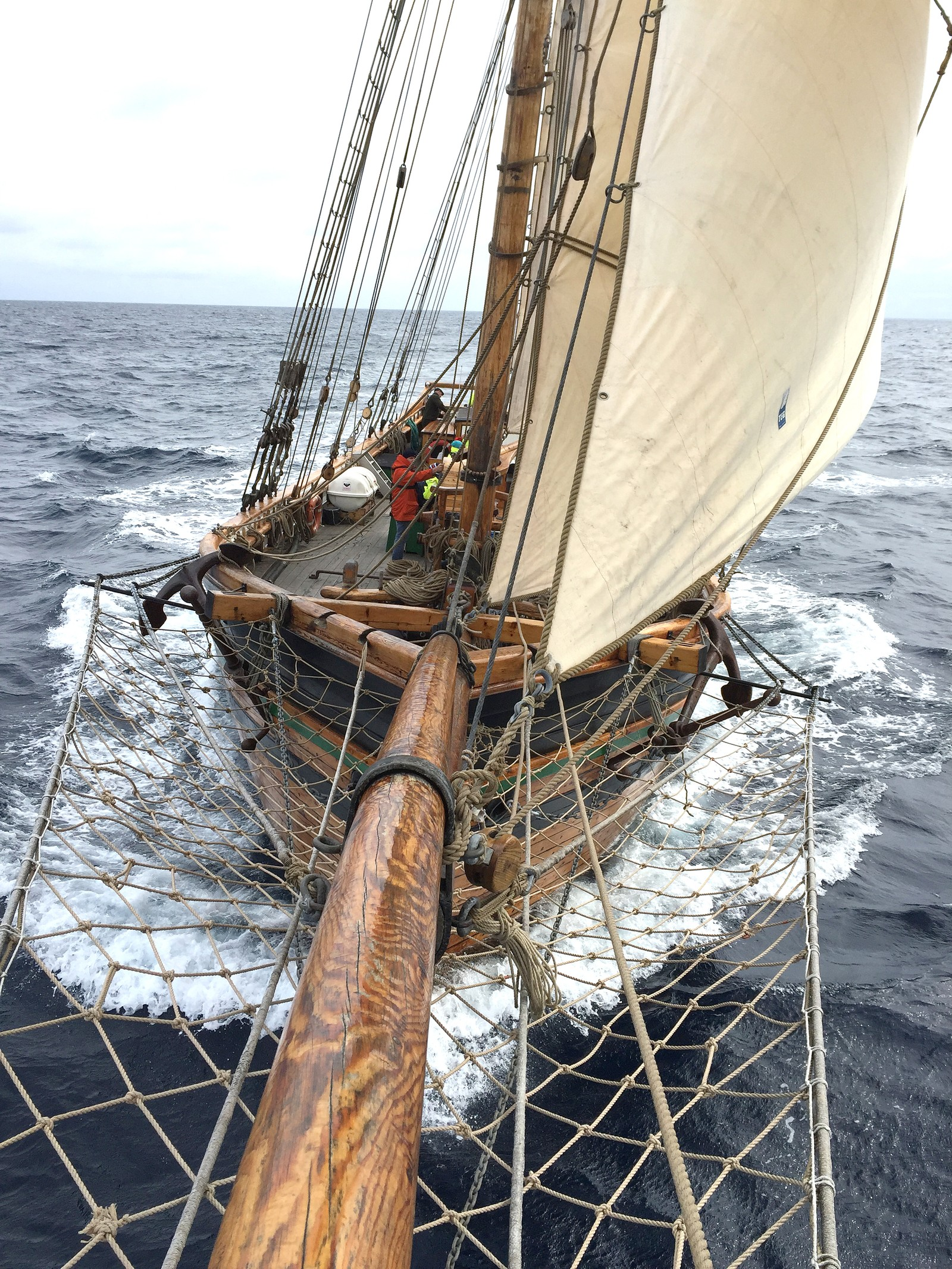 God fart på Svanhild på veg mot Shetland.