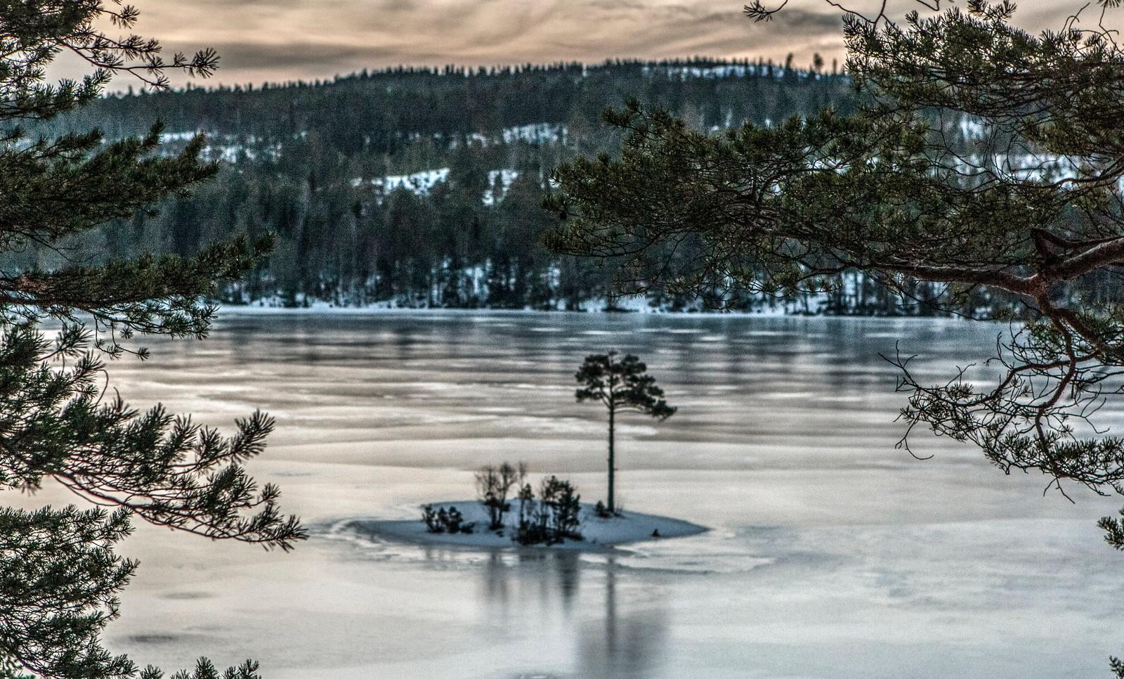 Iskaldt på Stavsjøen