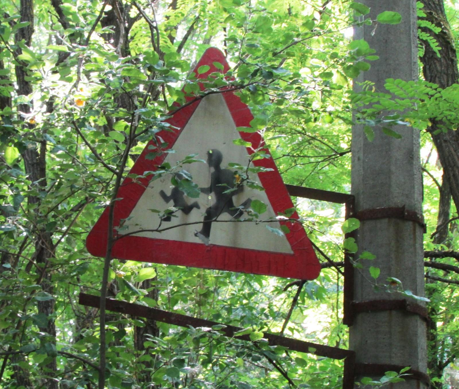 Ingen barn har vært en fare for trafikken i Pripyat på 30 år.
