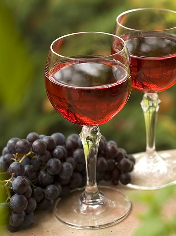Druer, vin