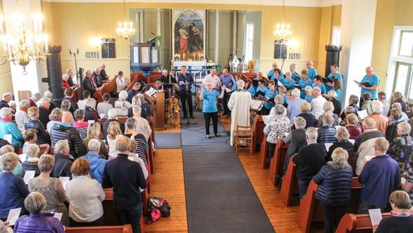 Gudstjeneste fra Austmarka kirke, Kongsvinger