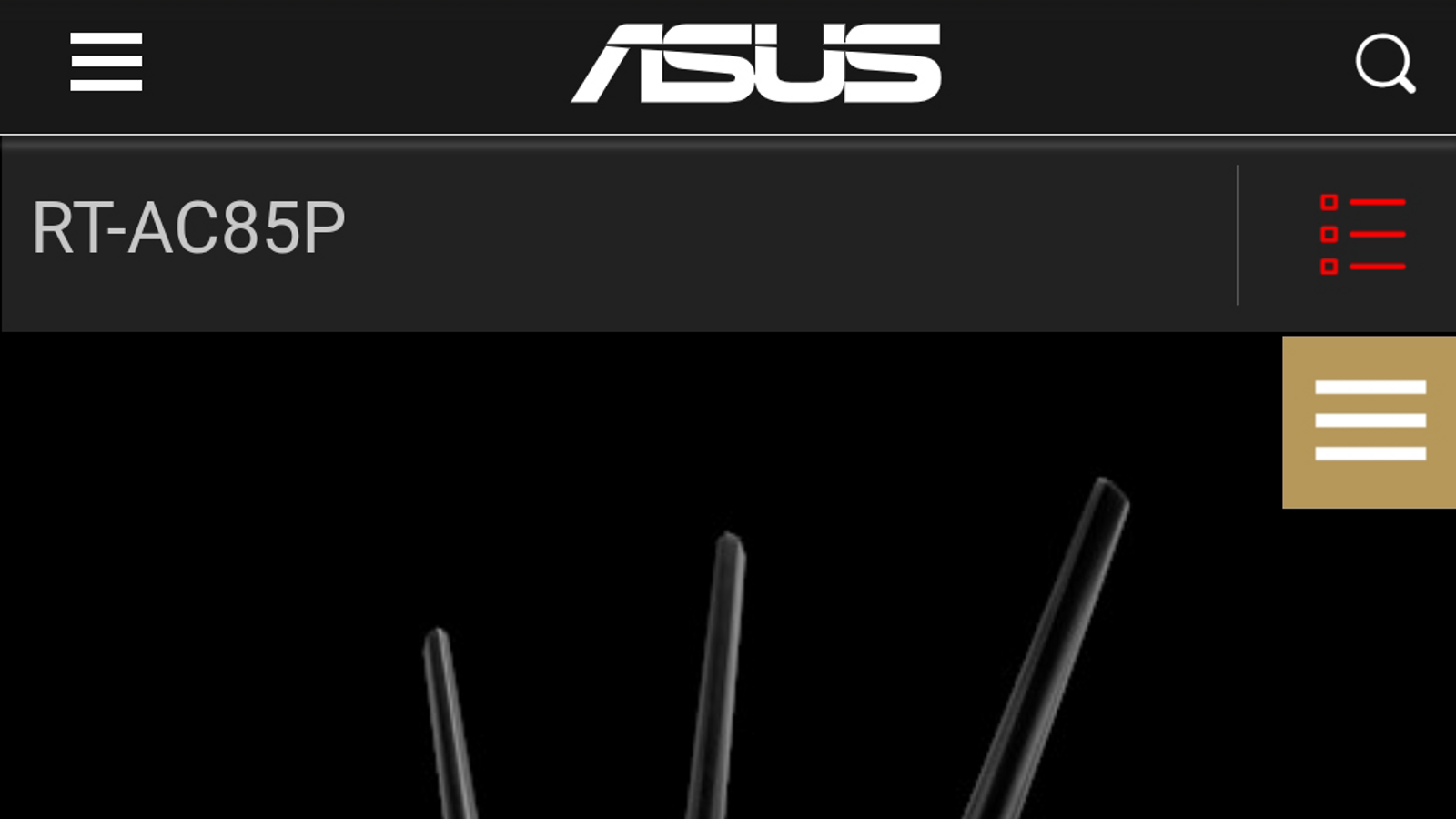 Asus RT-AC85P router