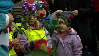 Video Barn av regnbuen, Haugesund