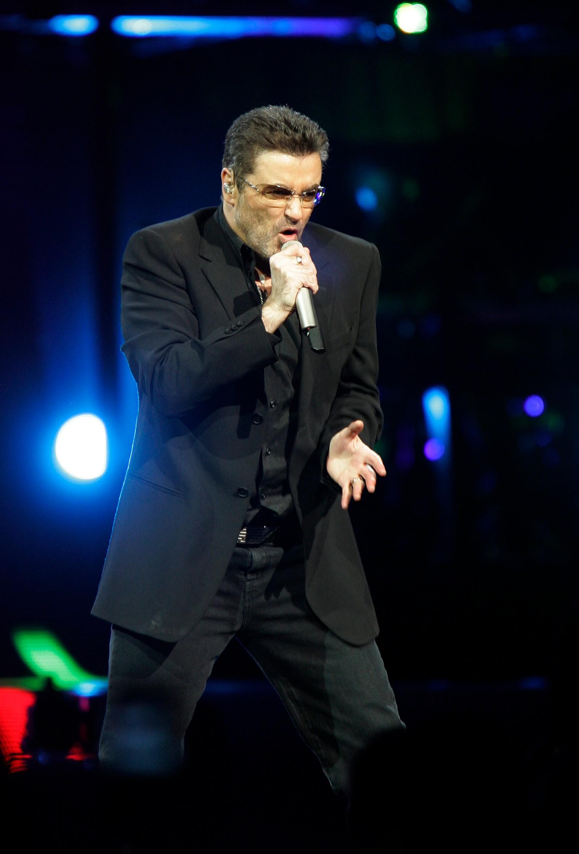 2008: På scenen i Madison Square Garden i New York 21. juli 2008.