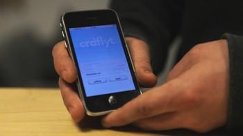 Ordflyt på app, testversjon