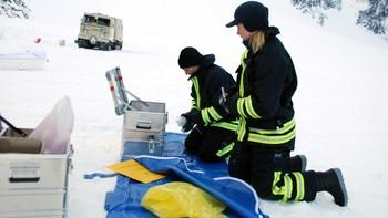 Her leter svensk politi etter levninger i Kebnekaise