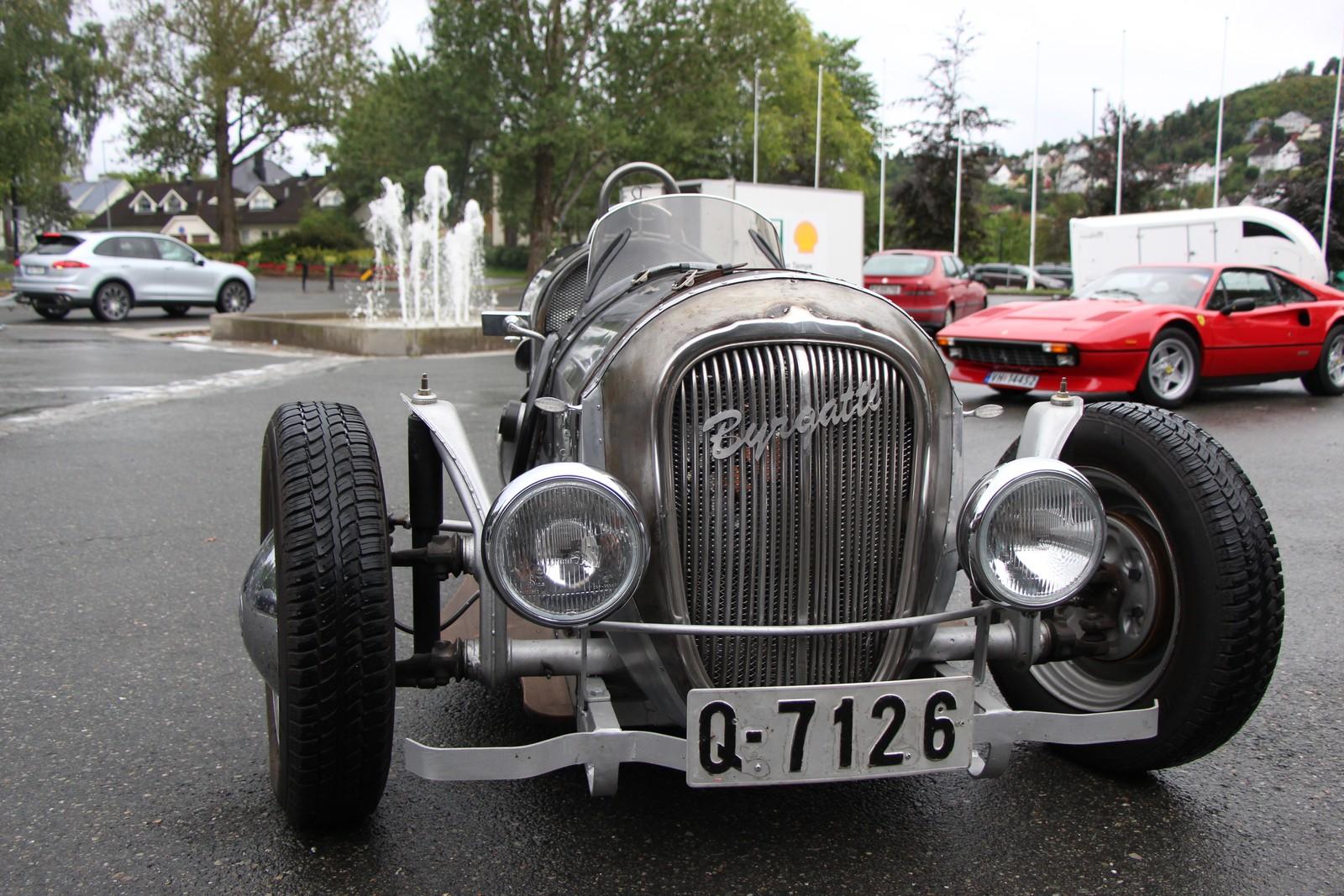 Byrge Aspaas' har oppkalt bilen sin etter seg selv: Byrgatti.