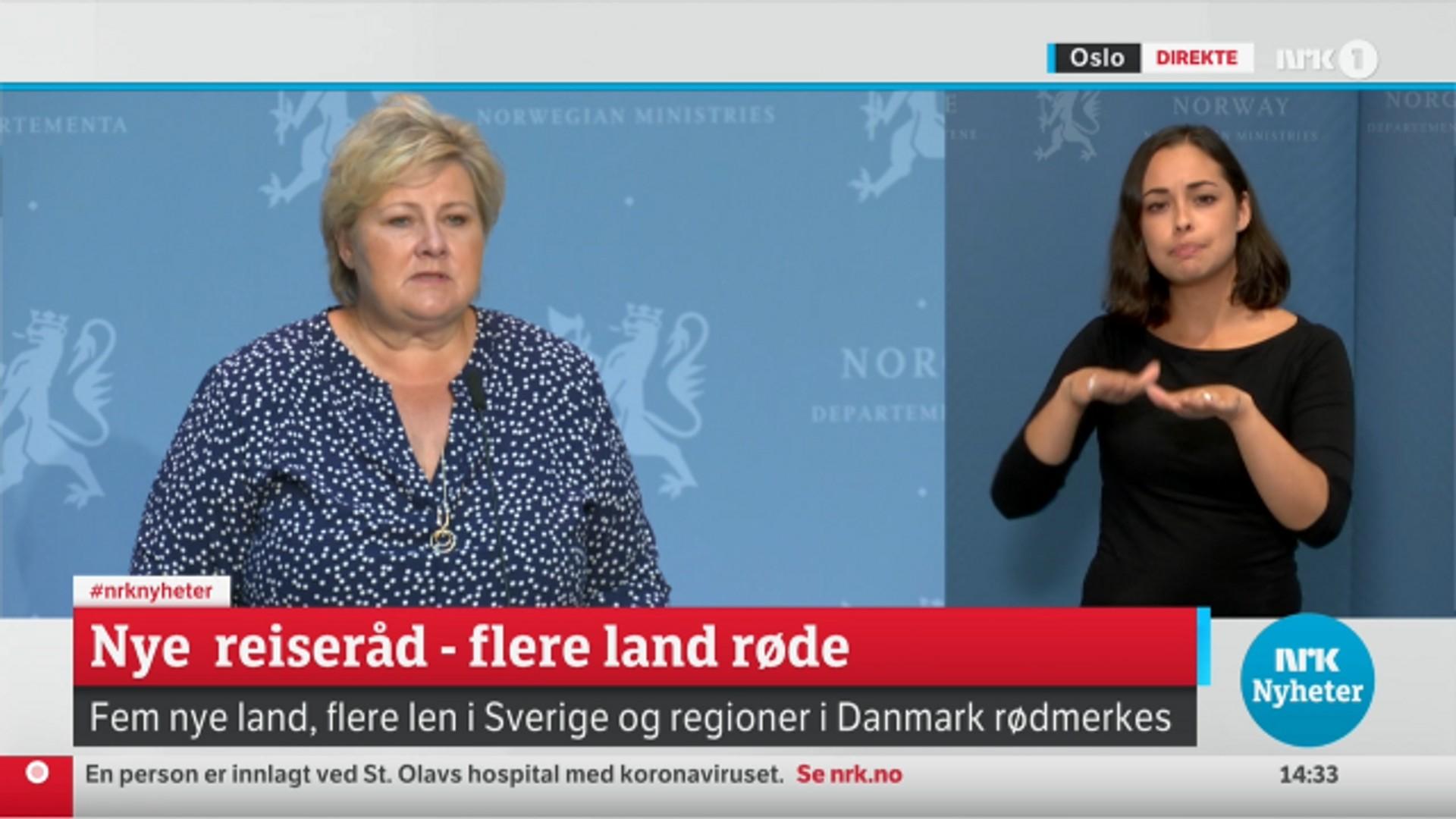 Regjeringen Fremskynder Korona Pressekonferanse Nrk Norge Oversikt Over Nyheter Fra Ulike Deler Av Landet