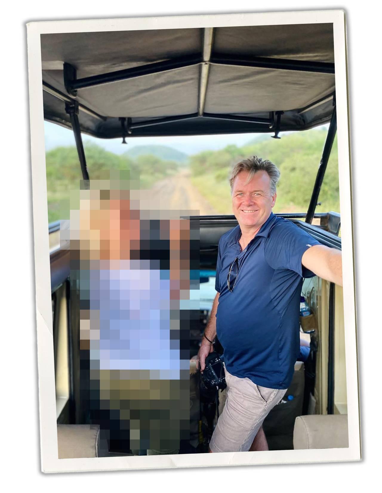 Jan Helge på safari