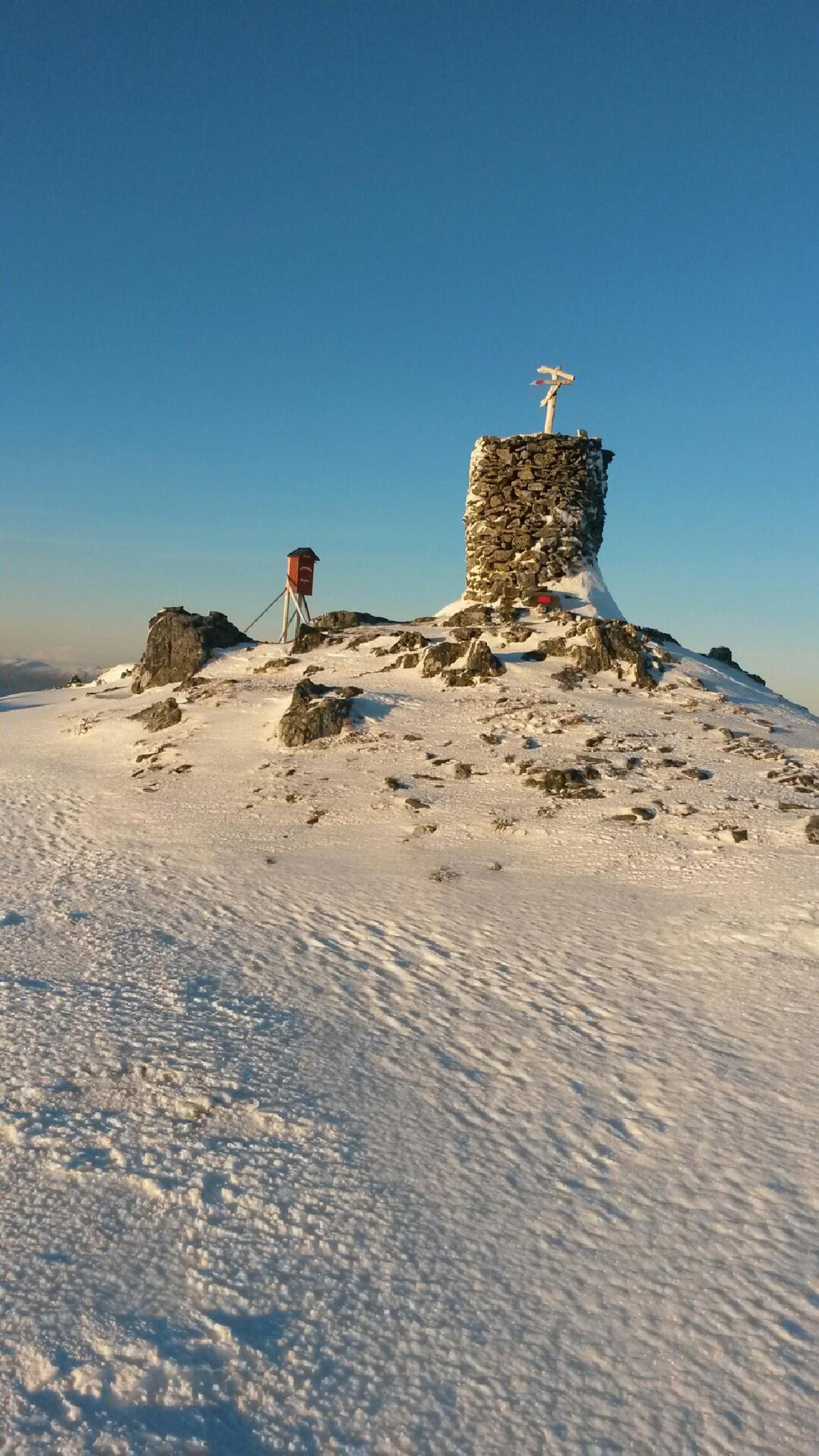 1. juledagstur frå Laviksåta til Sauesnyken.