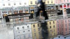 BREIFLABB OVERALT: Det blir vått, men ikke så kaldt, i Bergen og resten av Vestlandet denne uken. Onsdag kan vinden komme opp i full storm.