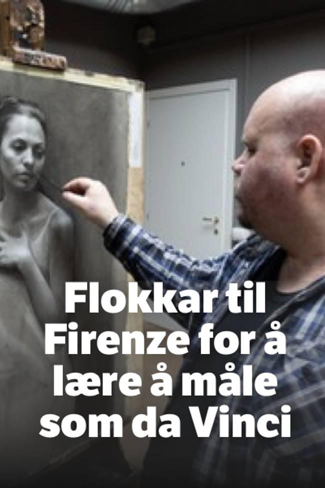 Mann maler