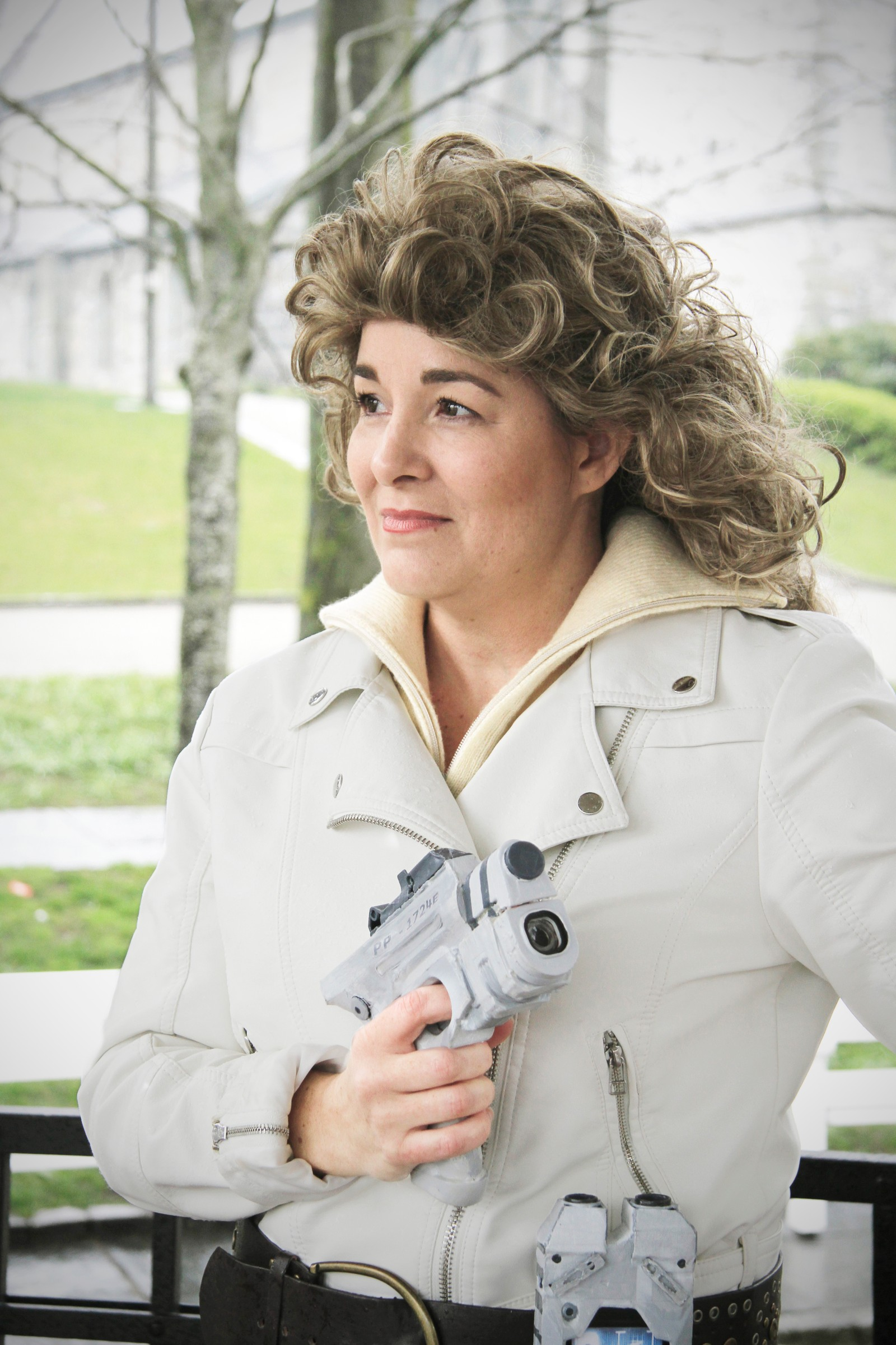 River Song fra Dr. Who.