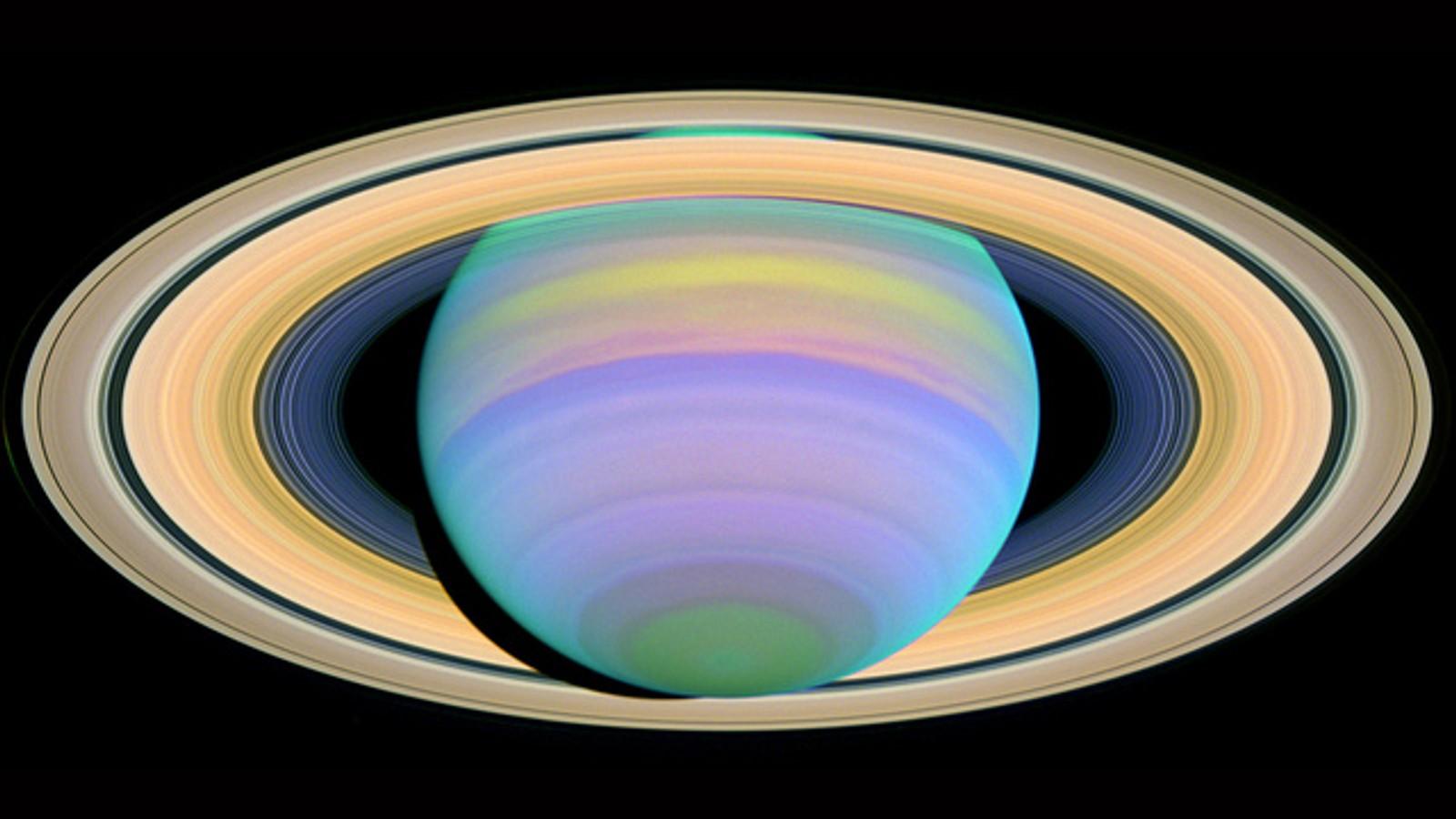 Saturns ringer.