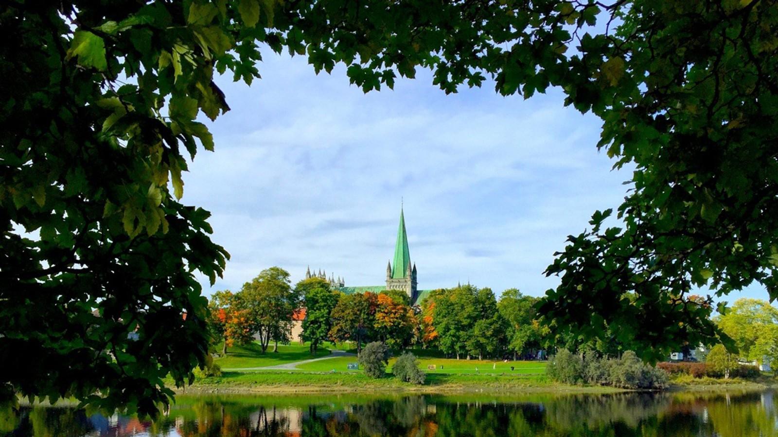Indian summer i Trondheim